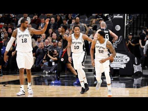 NBA Los Angeles Clippers vs San Antonio Spurs   Dec 13,  2018