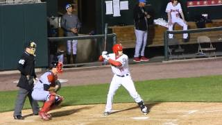 Nationals Prospect Cutter Dykstra Batting 4/10/14 HD