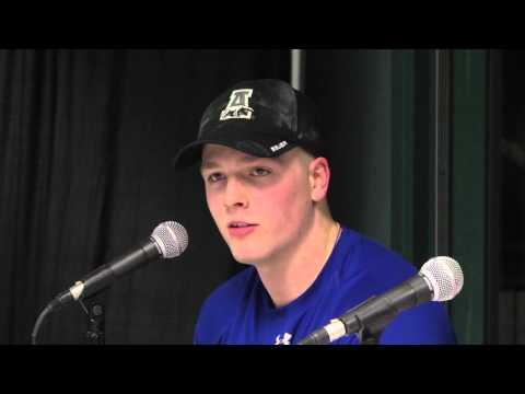 BOWLING GREEN FALCONS VS ALASKA NANOOKS POSTGAME PRESSER 02 19 2016
