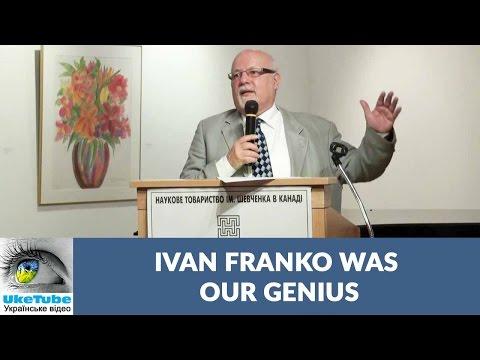 Polemic between Ivan Franko & Mykhailo Zubrytskyi, Dr. Frank Sysyn