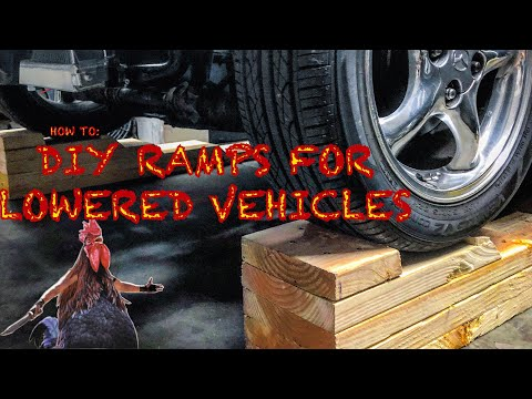Homemade Car Ramps With Basic Hand Tools | DIY Cheap Under $30