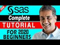 How to Learn SAS | SAS Tutorial for Beginners | The Complete  SAS Tutorial