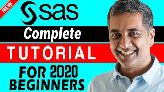 SAS Tutorial for Beginners : How to Learn SAS | The Complete  SAS Tutorial