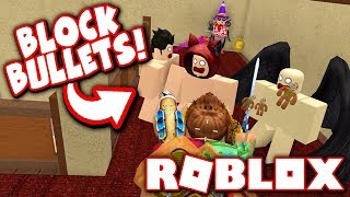 HOW TO ALWAYS BLOCK BULLETS!! (Roblox Murder Mystery 2)
