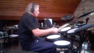Sandy Nelson ..Let There Be Drums... Drum Cover ---Tim Pavitt
