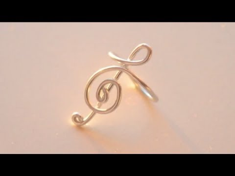 DIY Treble Clef Ring (Sweetorials Audition)