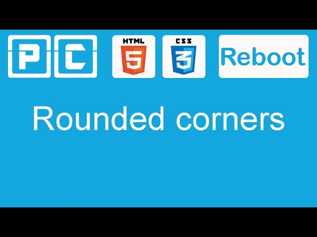HTML5 and CSS3 beginners tutorial 29 - rounded corners