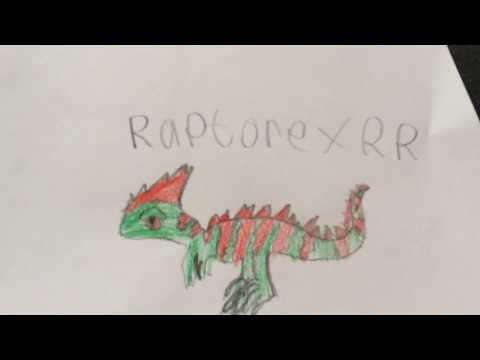 Raptorex rr and arch (and hallowtooth) raptpr rpg fan art