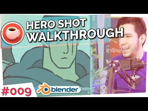HERO Special: Grease Pencil - Blender Today Live
