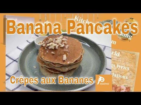 quick-desert-/-banana-pancakes---crêpes-bananes-rapides-délicieueses,-en-français-voir-description