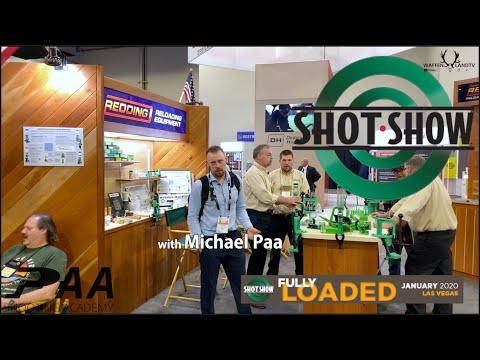 Shot Show 2020 Las Vegas Redding Reloading Equipment