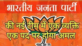 भाजपा की नई टीम में 'एक व्यक्ति, एक पद' पर होगा अमल, जेपी नड्डा युवा नेताओं को देंगे तरजीह