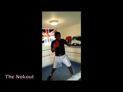 THE NOKOUT FAMILY: MICHAUX NOCKA  GIVING SOME TECHNICS TO HIS SON PRECIEUX NOKA