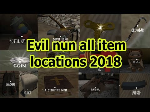Evil nun all item locations 2018