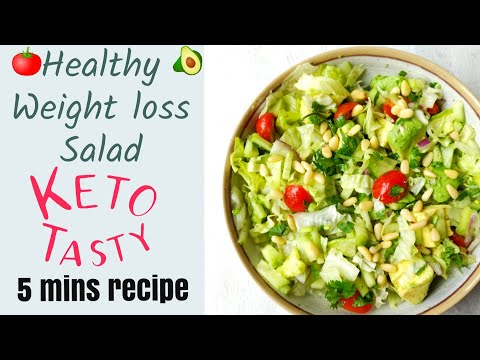 keto-low-carb-salad-|-healthy-weightloss-salad