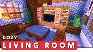 Minecraft: Building Tutorial �� How to Build a Cozy Living Room YouTube