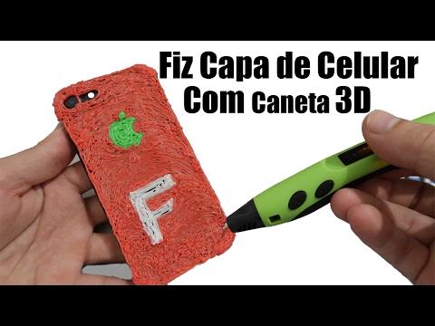 Como Fazer Capa para Celular com Caneta 3D