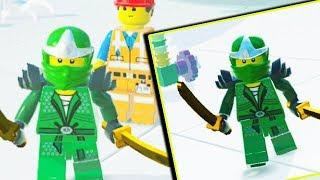 LEGO PRZYGODA GRA - LLOYD ZIELONY NINJA i EMMET - LEGO MOVIE VIDEOGAME