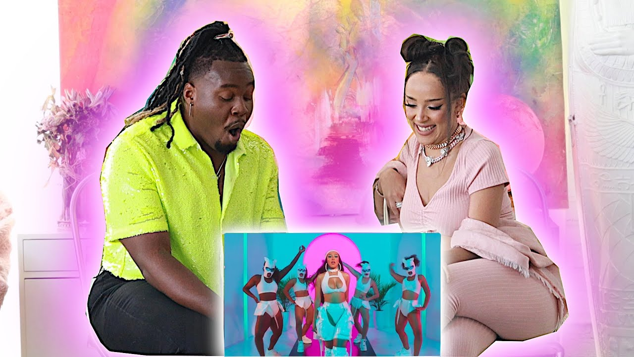 "DOJA CAT ""LIKE THAT"" REACTION WITH DOJA CAT!!"