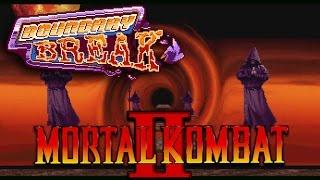 Hidden Unused Backdrop | Mortal Kombat II Arcade  - Boundary Break Mini