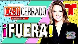 Telemundo CANCELA CASO CERRADO de la Doctora Ana María Polo