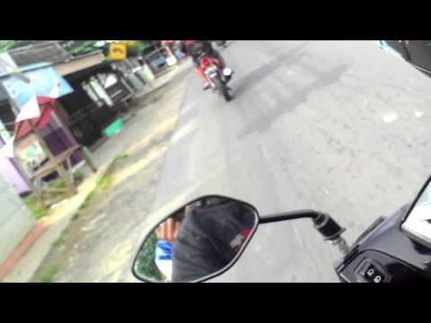 Indonesian street fight