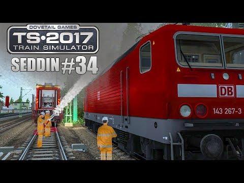 TRAIN SIMULATOR 2017 #34: DIE LOK BRENNT! Schwere Fracht für Seddin