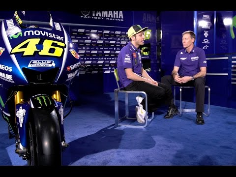 Valentino Rossi's Q&A with Managing Director Lin Jarvis