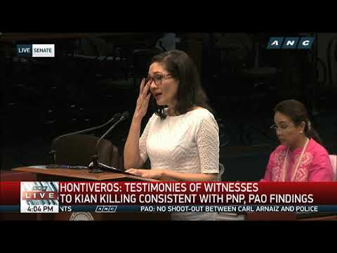 Hontiveros wants Justice Secretary Aguirre to resign