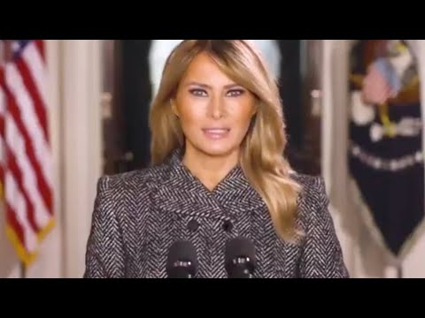 Melania Trump's Farewell Has A Head-Turning Message