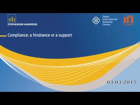Compliance - a hindrance or a support