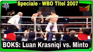 Boks Luan Krasniqi vs Brian Minto WBO Titel 2007