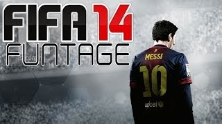 FIFA 14 Funtage (Funny Moments and Celebrations)