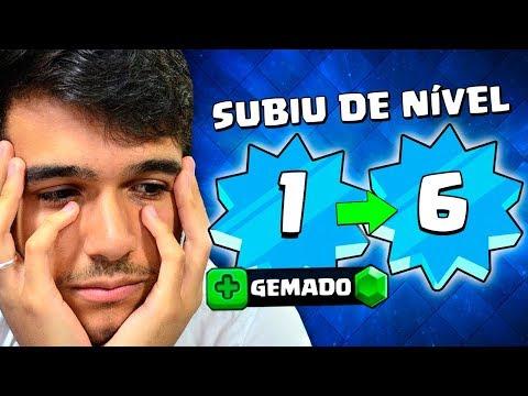 UPEI O NÍVEL 1 MAIS GEMADO DO CLASH ROYALE