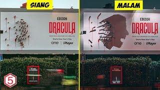 iklan Billboard ini Bikin bingung Orang Waktu Siang , tapi Jadi Perhatian Waktu Malam