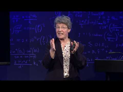 Jocelyn Bell Burnell at Perimeter: The Discovery of Pulsars