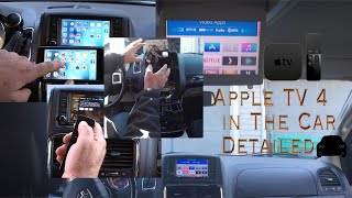 Apple TV 4 in The Car detailed