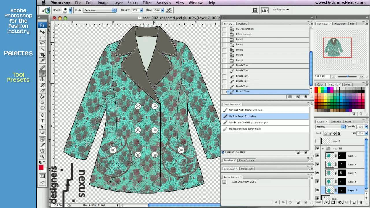 Photoshop For Designing Clothes
