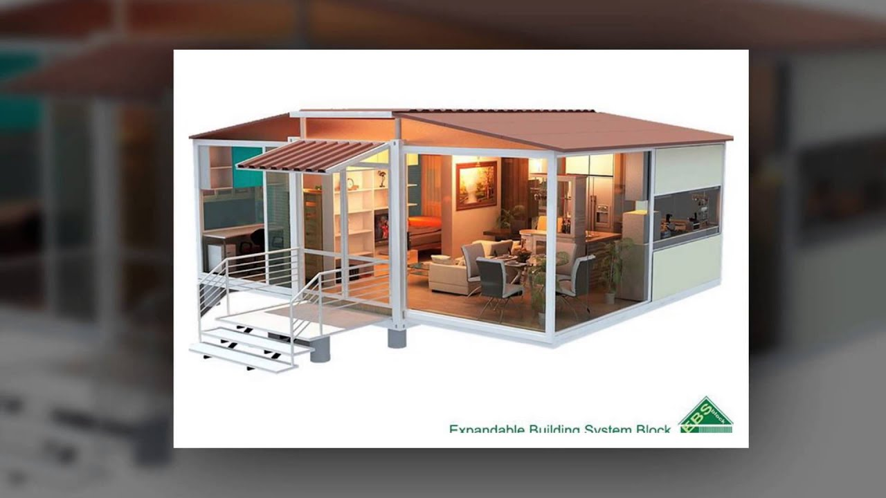 Ebs block prefabricated home mobile home home container for Fabricated home