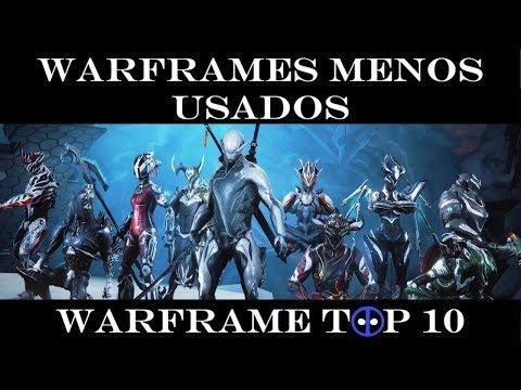 Warframe Top 10 - Los Warframes Menos usados thumbnail
