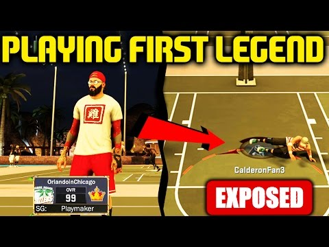 PLAYING FIRST LEGEND ORLANDO IN CHICAGO! SOMEONE GETS EXPOSED! NBA 2K17 MYPARK