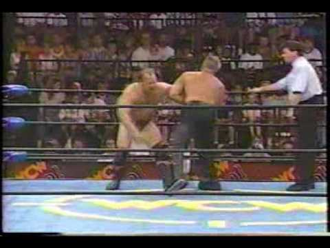 Chad Brock: WCW clips against Mike Enos