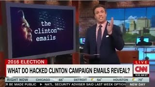 CNN's Chris Cuomo Censoring WikiLeaks Revelations About Hillary Clinton