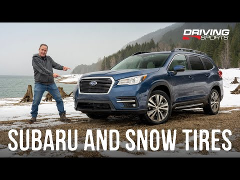 2020 Subaru Ascent XMode Snow Tire Challenge