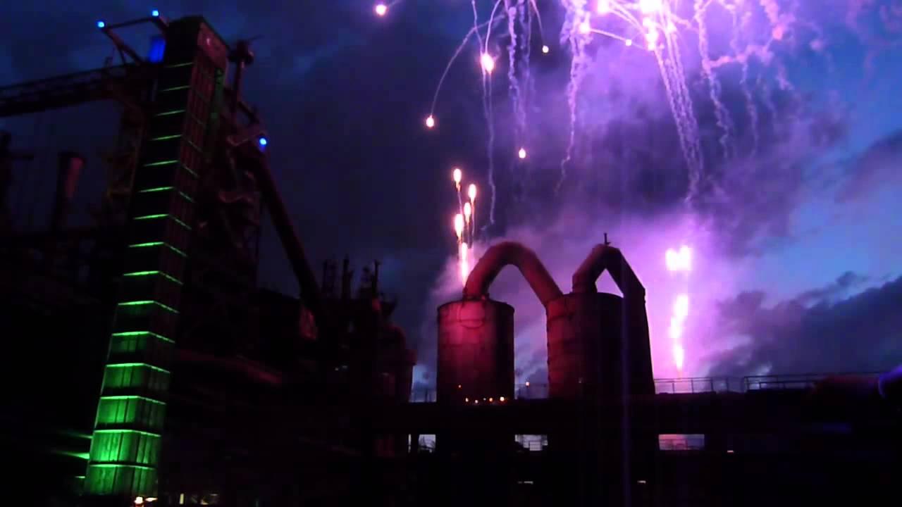 Extraschicht Feuerwerk