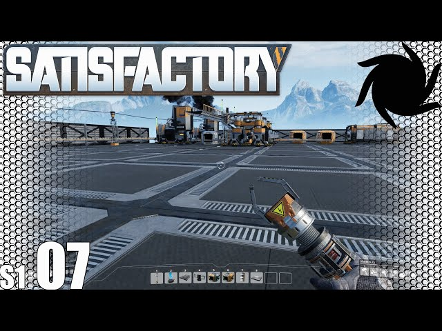 Satisfactory - S01E07 - Continuing The Iron Factory