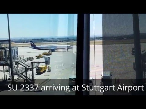 Tripreport / Review Stuttgart Moscow STR - SVO Aeroflot SU2337 July 2015 Business Class