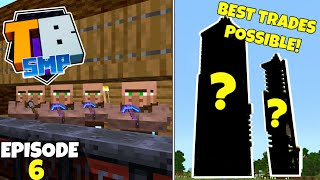 Truly Bedrock S2 Ep6! All The BEST Trades Possible! Bedrock Edition Survival Let's Play!