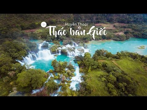 Flycam Thác Bản Giốc Siêu Đẹp Tại Cao Bằng Việt Nam - Nếm TV