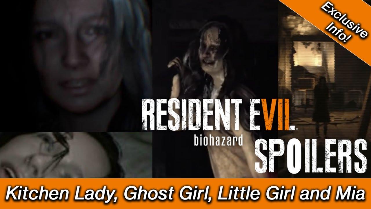 Resident Evil 7 - Spoilers Vol 1   Mia, Kitchen Girl, Little Girl ...